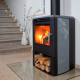 Aduro 6SK soapstone finish wood burning stove