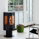 Aduro 9-3 Black modern wood burning stove