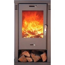 Apollo 9kw modern wood burning stove