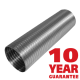 Chimney Liner 5 inch Diameter 9 metre length