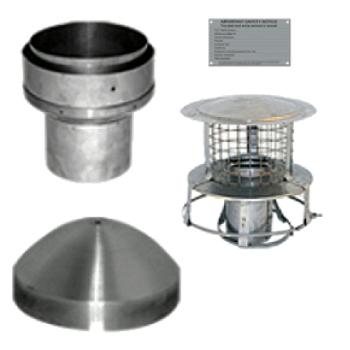 Chimney Liner 6 Quot Install Kit With Pot Hanger