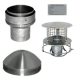 "Chimney Liner 6"" install kit with pot hanger"