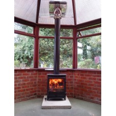 "Conservatory woodburning stove install kit (for 6"" stove flue)"