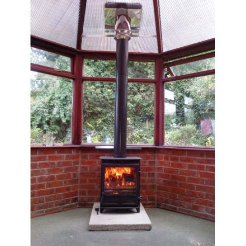 Conservatory Woodburning Stove Install Kit For 5 Quot Stove Flue