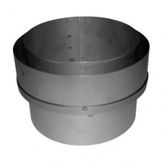 "Flue pipe adaptor 5"" to 5"" flue liner"