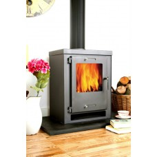 Juno 5 Kilowatt contemporary wood burning stove