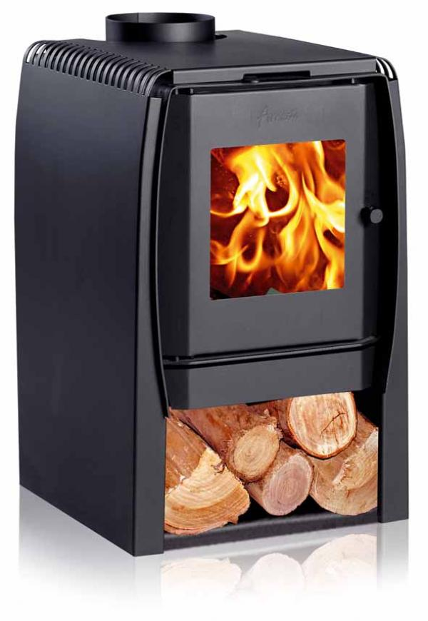 defra modern wood burning stove