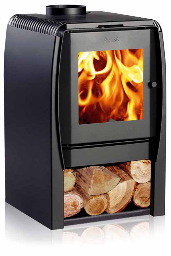 NORDIC modern log burner stove