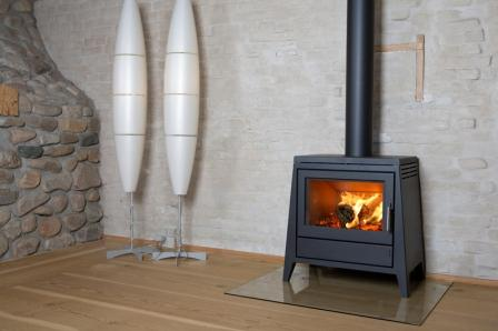 contemporary wood burners