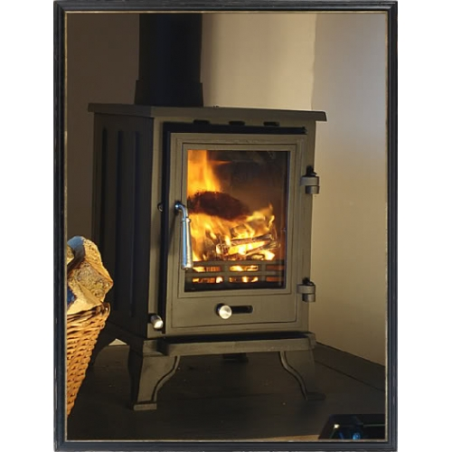 - Ascot 5kw Compact Wood Burning Stove