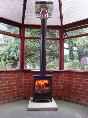 Conservatory Woodburning Stove Install Kit For 6 Quot Stove Flue