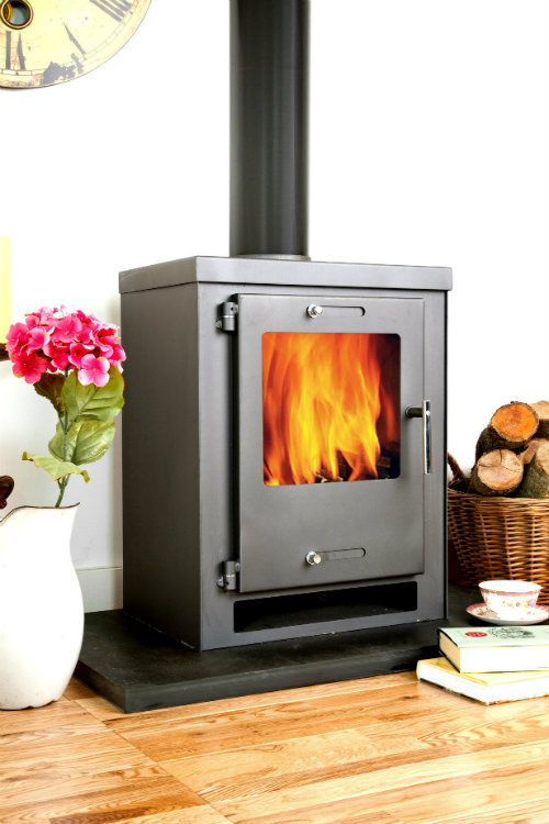 juno modern contemporary woodburner