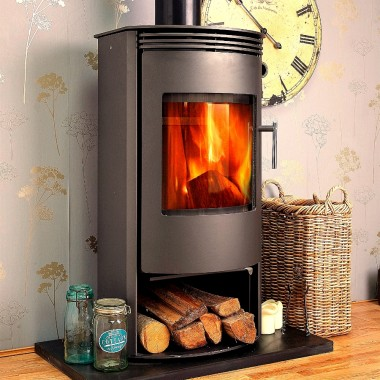 Venus 7 Kilowatt Contemporary Modern Wood Burner